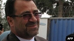 The former governor of Helmand Province, Mohammad Ghulab Mangal