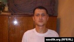 25-летний сварщик из Бухары Зухриддин Рашидов.