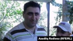 Azerbaijan -- Ramil Safarov is pictured on his return to Baku, 31Aug2012.