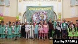 Фестивальдә катнашучы балалар