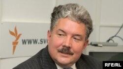 Сергей Бабурин в студии Радио Свобода