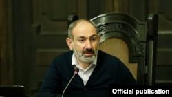 Премьер-министр Армении НиколПашинян (архив)