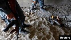 در اثر عملیات نظامی در ارزگان ۳۷ طالب مسلح کشته شدند