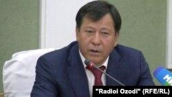 Министр внутренних дел Таджикистана Рамазон Рахимзода. 22 июля 2016 года.