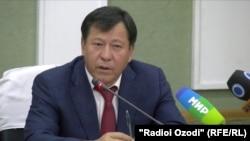 Рамазон Рахимзода, министр внутренних дел Таджикистана