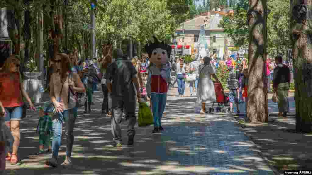 У Дитячому парку в День міста багатолюдно