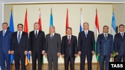 Armenia -- Security Council chiefs of CSTO member states meet in Yerevan, 03Sep2008