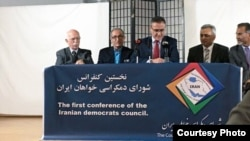 The first conference of the Iranian Democrats Council which was held in Cologne on Saturday November 18, 2017.