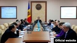 Şedinţa cabinetului de miniştri