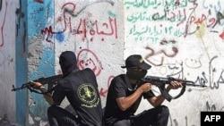 شبه نظامیان حماس کنترل را در غزه در دست دارند.