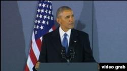 Ish-presidenti i Shteteve të Bashkuara, Barack Obama.