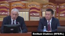 Исхак Масалиев жана Чыныбай Турсунбеков