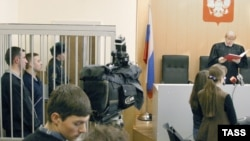 A judge pronounces a verdict in a Sverdlovsk regional court. (file photo)