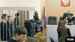 A judge pronounces a verdict in a Sverdlovsk regional court. (file photo)