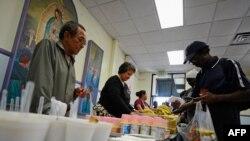 Obrok za beskućnike u Los Anđelesu, ilustrativna fotografija