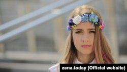16-гадовая Zena(Зінаіда Купрыяновіч)