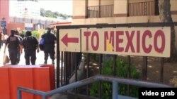 На границе США и Мексики