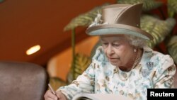 Böyük Britaniya kraliçası 2-ci Elizabeth