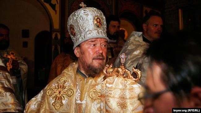 Митрополит Сімферопольський і Кримський УПЦ (МП) Лазар (Швець). Архівне фото