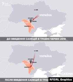 Відповідно до документів, партії металобрухту з України почали провозити через Кишинів.