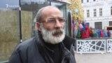 Прохожие в Тбилиси поздравляют с Новым годом жителей Северного Кавказа
