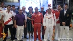 Armenian Olympic Athletes Off To London
