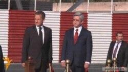 Ֆրանսիայի նախագահը ժամանեց Երեւան