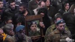 Այսօր Երևանում տեղի ունեցավ հետախույզ-գնդացրորդ Սասուն Մկրտչյանի հոգեհանգիստը