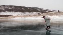 Человек на карте: баба Люда — байкальская конькобежка