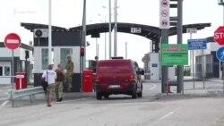 Під гімн і ревіння мотора: «Мотопробіг єдності» на адмінкордоні з Кримом (відео)