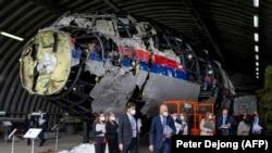Нідерланди. Реконструкція літака рейсу MH17