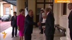 Назарбаевқа Букингэм сарайында қонақасы берілді