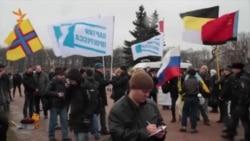 "Националисты мешают акции ""Петербург за Майдан"""