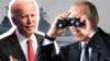Президент США Джо Байден і президент Росії Володимир Путін (колаж)