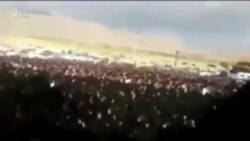 Amateur Video Purports To Show Protest In Masjed Soleiman