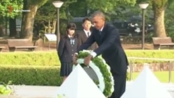 С неба упала смерть, и мир изменился навсегда – Барак Обама в Хиросиме (видео)