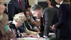 Вибори у Маріуполі необхідні – Порошенко під час голосування