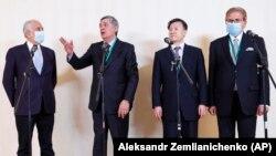 نمایندگان روسیه، چین، امریکا و پاکستان در نشست مسکو