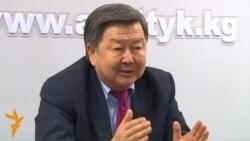 Сатыбалдиев: Кумтөрдү аягына чыгармакмын