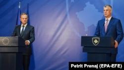 Косовскиот претседател Хашим Тачи