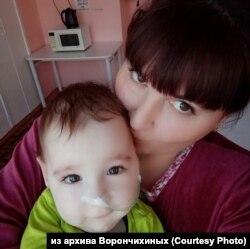Анна и Вениамин Ворончихины