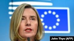 високата претставничка за надворешна политика и безбедност на ЕУ Федерика Могерини
