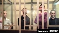 Кримчани у суді російського Ростова-на-Дону (архівне фото)