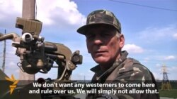 Retreating Rebels Dig In Around Donetsk