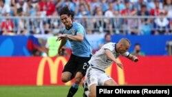 Матч сборных Уругвая и России в группе А, иллюстрационное фото