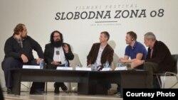 Faik Ispahiu, Steinar Brin, Ivan Milenkovic, Jun Haukeland i Lazar Stojanovic