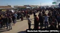 Ситуация на посту «Дустлик» («Достук»), 19 мая 2018 года.