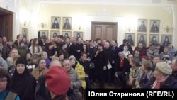 Публичные слушания о строительстве храма в Красноярске