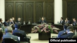 Armenia-Discusion in the Government about situation of Coronavirus,23March,2020