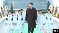 Gurbanguly Berdimuhamedov Yeni il tədbirində